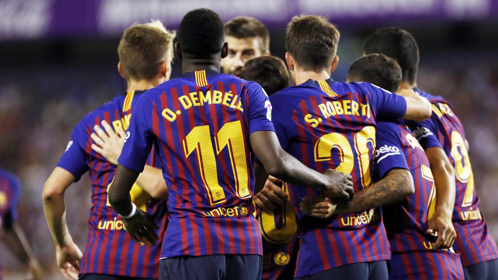 صور مباراة : بلد الوليد - برشلونة 0-1 ( 25-08-2018 )  96710929