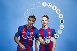 Discover which emojis his teammates choose to describe Leo Messi on his thirtieth birthday