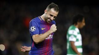 FC Barcelona 2 - Sporting CP 0 (1 minuto)