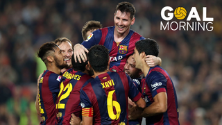 GOAL MORNING!!! On this day Messi moved past Zarra as Barça's record goalscorer in La Liga.