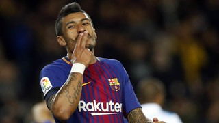 All the goals of Paulinho with the Barça's shirt
