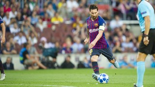 Nou rècord de Messi: Vuitè gol de falta en un any natural