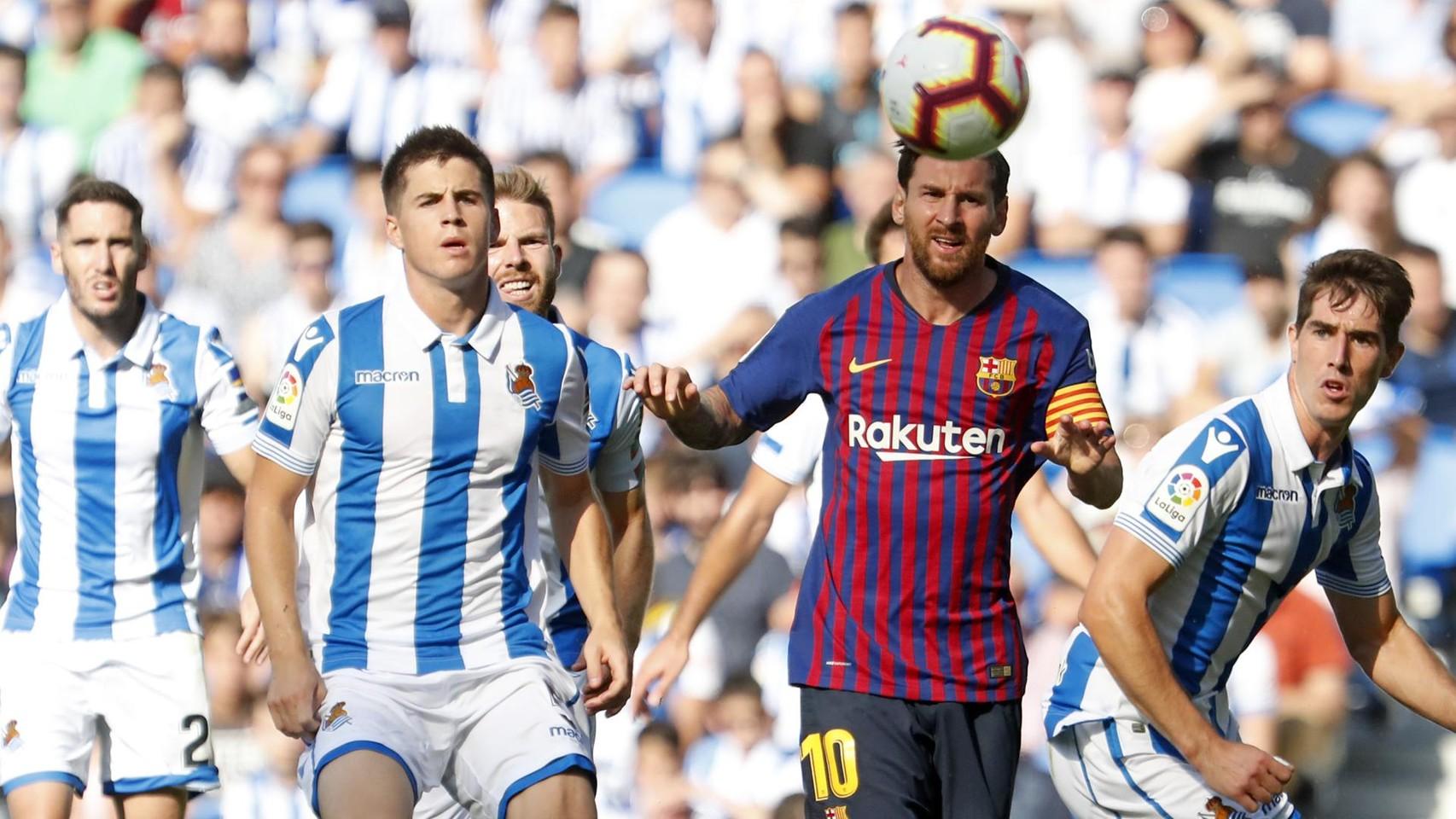 صور مباراة : ريال سوسيداد - برشلونة 1-2 ( 15-09-2018 ) 98623914