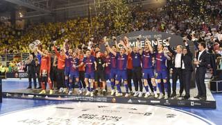 ¡Campeones de la Copa del Rey de fútbol sala 2018!