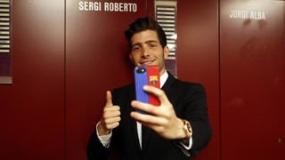 Sergi Roberto reveals his likes and preferences