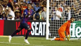 FC Barcelona 2 - Tottenham 2 (2 minutos)