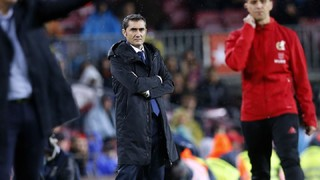 Ernesto Valverde: 'We are happy with the win, but there is still a lot of work to do'