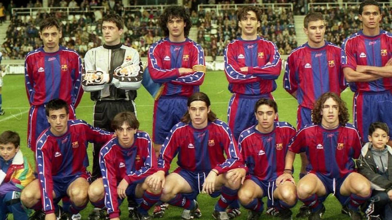 The Barça legend made his first appearance on March 24, 1998, in a game against Unió Esportiva Lleida, in the semifinal of the Copa Catalunya