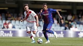FC Barcelona B 2 - Rayo Vallecano 3