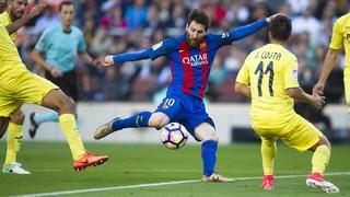 FC Barcelona 4 - Villarreal 1 (1 minuto)