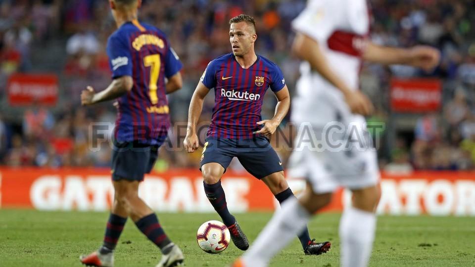 صور مباراة : برشلونة - هويسكا 8-2 ( 02-09-2018 )  97434798