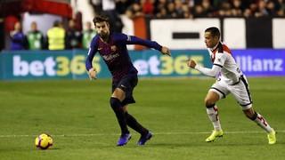 Rayo Vallecano 2 - FC Barcelona 3