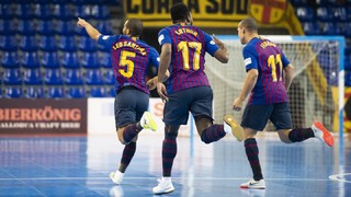 Barça Lassa 8-1 Palma Futsal: Goalfest to top the table