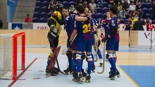 Reus - Barça Lassa (hoquei patins) (2-4) Semifinal Lliga Europea 2017/2018