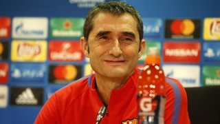 """Ernesto Valverde: """"La Champions nos ha dado mucho y tenemos que respetarla"""""""