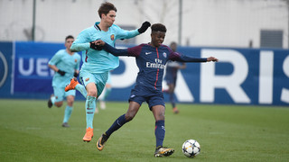Barça U-19s beat PSG, qualify for UEFA Youth League quarterfinals
