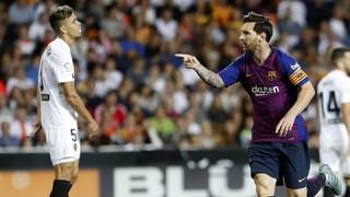 Valencia - FC Barcelona (1 minuto)