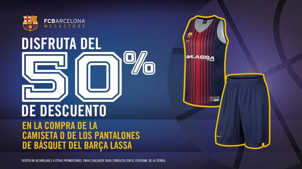 La Camiseta Del Barça Lassa, Al 50% De Descuento