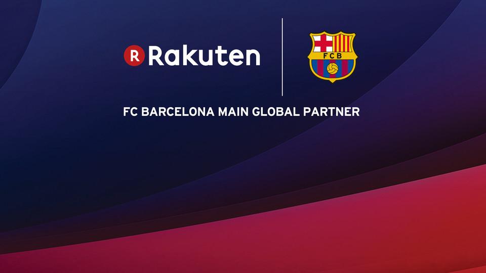 Rakuten sign up as FC Barcelona\'s new main global partner - FC Barcelona
