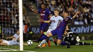 Celta de Vigo 2 - FC Barcelona 2 (3 minuts)