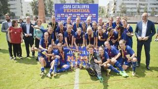 El Barça Femení amplia distàncies en el palmarès de la competició per davant de l'Espanyol