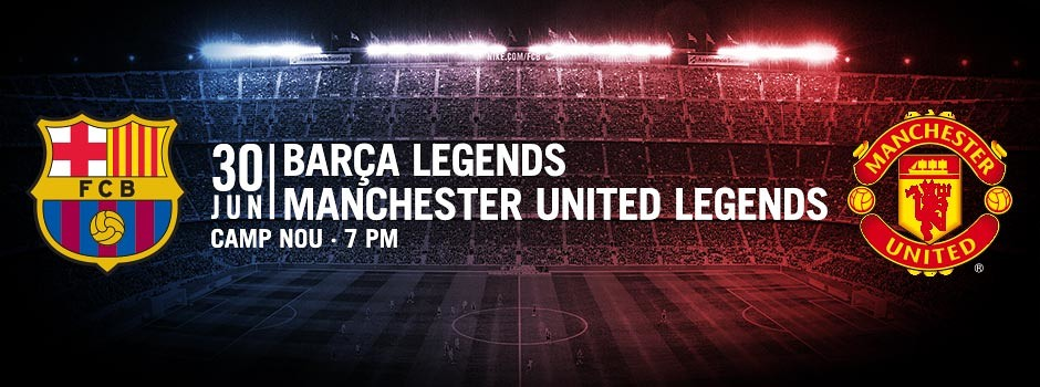 Legends Match Ticekts FCB - MANU