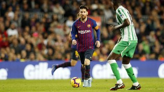 FC Barcelona 3 - Betis 4 (1 minuto)