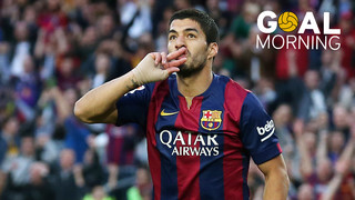 Goal Morning: ¡El golazo de Luis Suárez contra el Getafe!