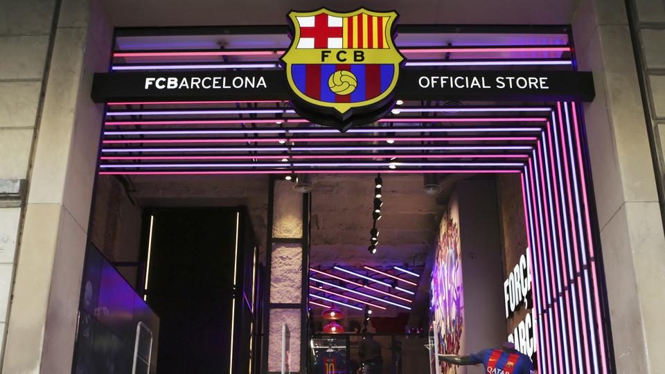 fc barcelona  nike move  barcelona city centre fc