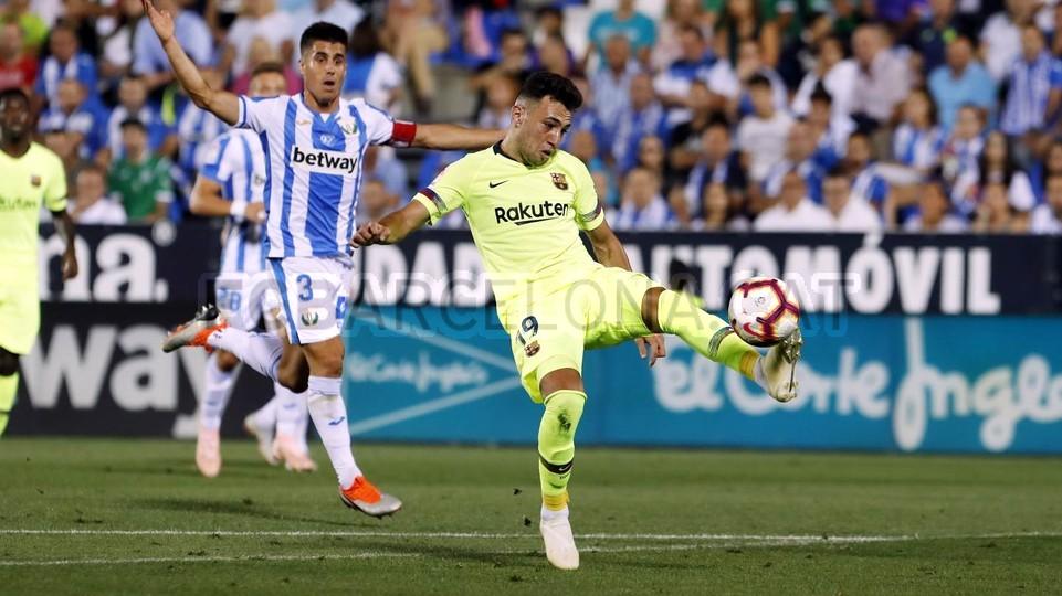 صور مباراة : ليغانيس - برشلونة 2-1 ( 26-09-2018 ) 99772851