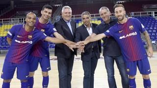 Trio d'asos per refoçar el Barça Lassa