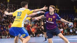 Barça Lassa – Vive Kielce: Victòria de mèrit per seguir al capdavant (31-27)
