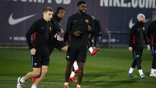 Último entrenamiento antes de la Copa