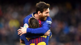 Jordi Alba and Messi, a lethal connection