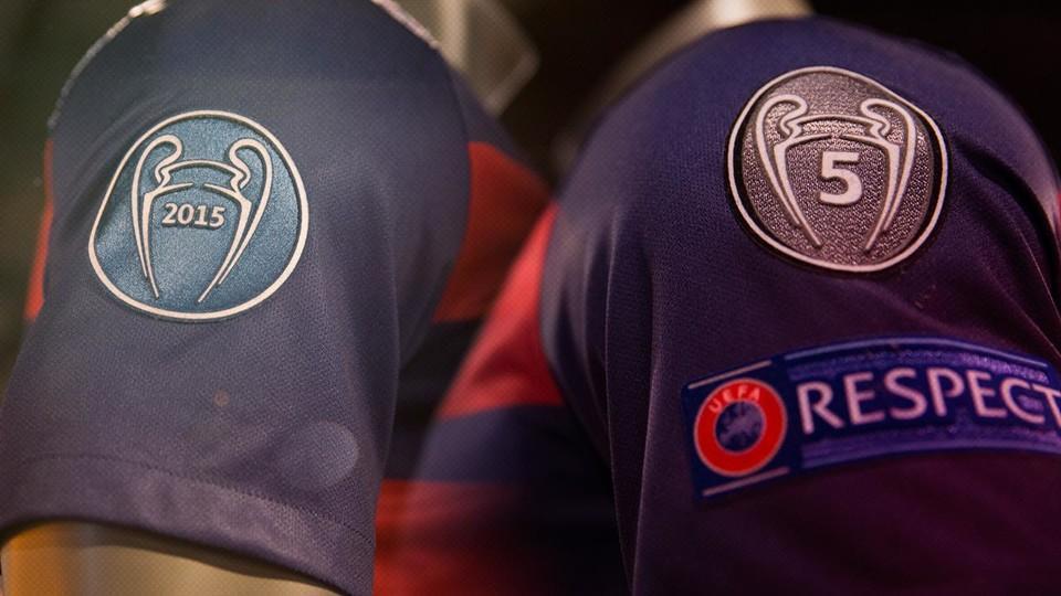barcelona champions league 2015 t shirt
