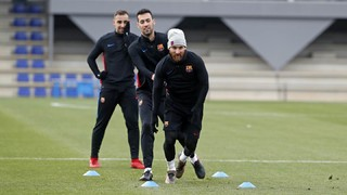 Training with a focus on Deportivo