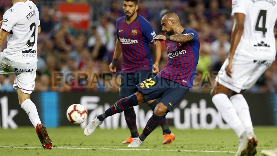 صور مباراة : برشلونة - هويسكا 8-2 ( 02-09-2018 )  97434804