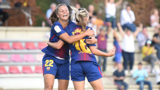 Top ten goals of 2017 from Women's team and La Masia