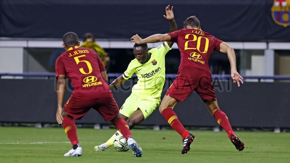 صور مباراة : برشلونة - روما 4-2 ( 01-08-2018 )  95181492