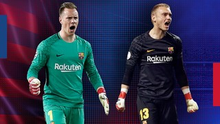 Marc André ter Stegen and Jasper Cillessen have made the Barça net Europe's most impenetrable among the eight teams still vying for the UEFA Champions League title