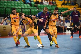 Magnus Futsal-Barça Lassa: They deserved more (1-0)