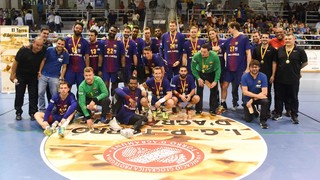 Barça Lassa - Fraikin BM Granollers: Campeones con solvencia (46-27)