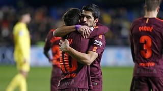 Vila-real CF 0 - FC Barcelona 2
