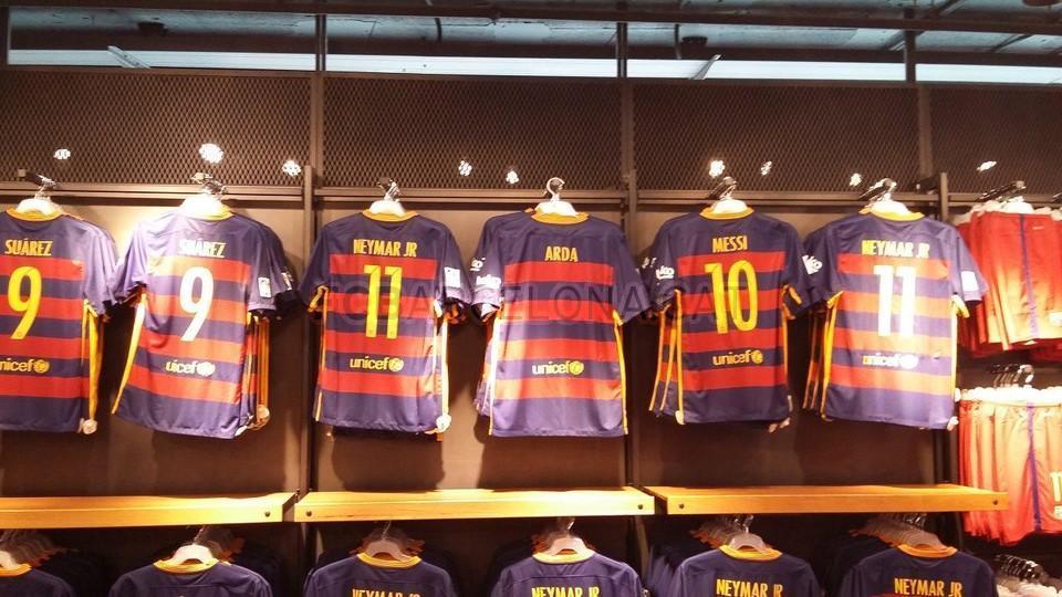 d2a7da65f Arda Turan shirt in the FC Barcelona Club Shop - FC Barcelona