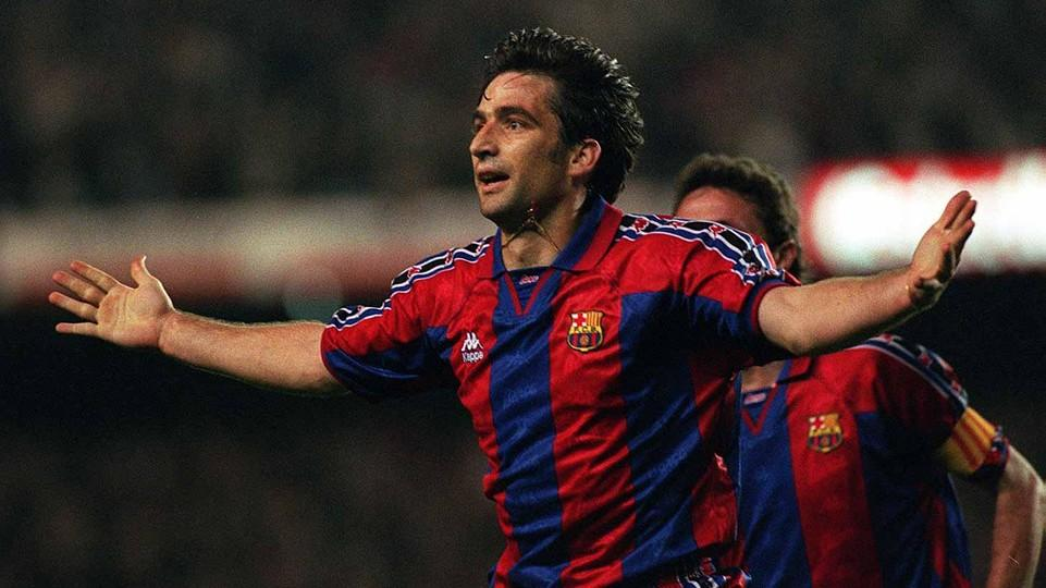 Juan Antonio Pizzi Spent Two Seasons At Barca Photo Arxiu Fcb