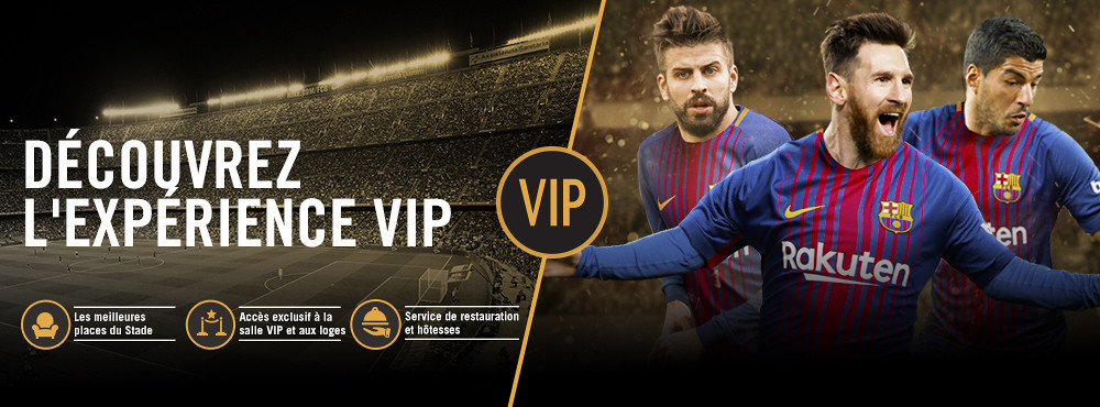Être VIP est toute une expérience, avec des avantages pendant le match mais aussi avant et après