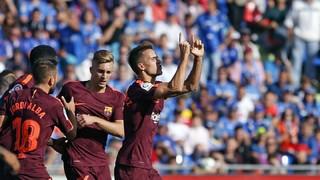 Getafe 1 - FC Barcelona 2 (3 minutos)