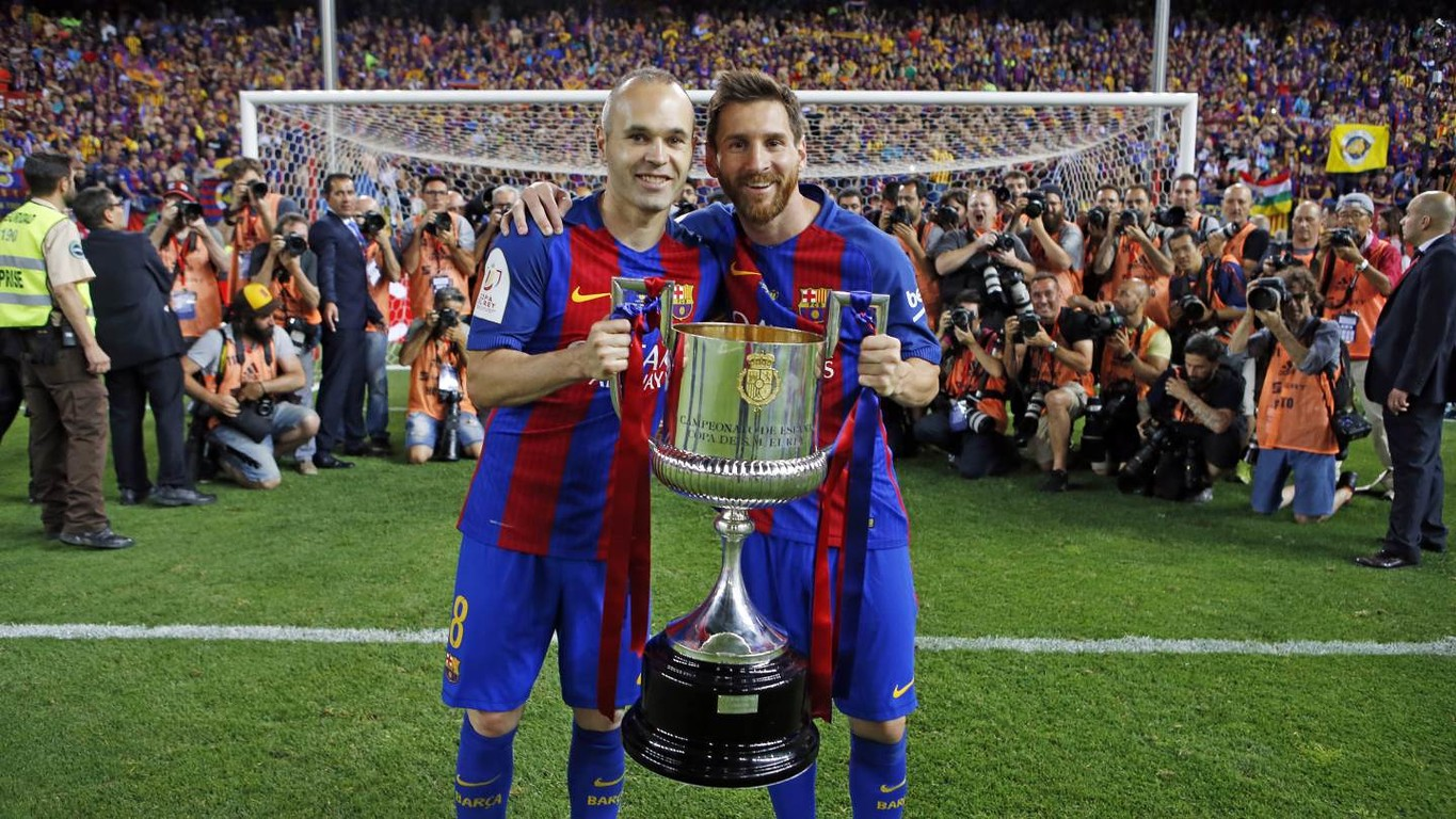 Current squad members Gerard Piqué, Sergio Busquets, Andrés Iniesta and Leo Messi have claimed their fifth victories in the competition and are now amongst the eleven players in the Club's history with most Copa wins