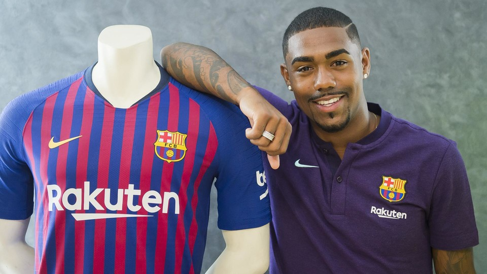Maillot THIRD FC Barcelona Malcom