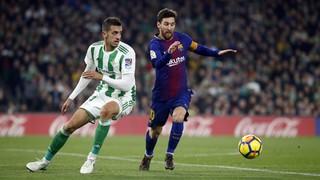 El Benito Villamarín es rendeix a Lionel Messi